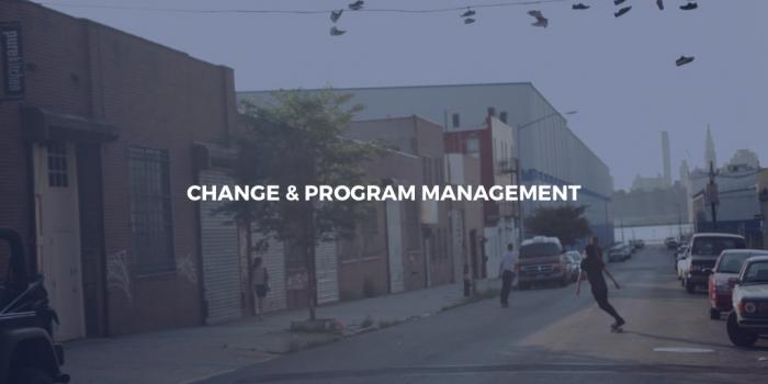 Change & Program Management